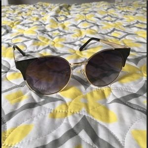 Aldo Accessories - Black and Gold Sunglasses
