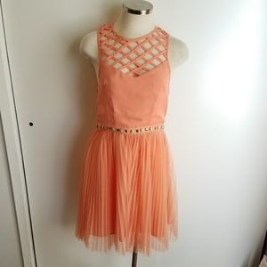 NWT! English Rose Coral Dress