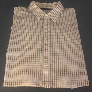 Button Down/Dress Shirt - Hidden Buttons - Size L