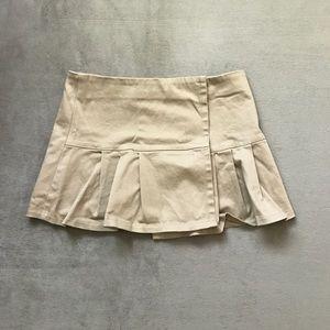 ALLOY Dresses & Skirts - 🆓 WITH BUNDLE PURCHASE Khaki Pleated Mini