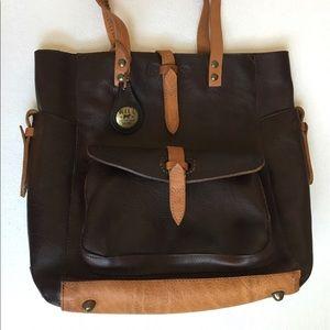 Will Leather Goods Handbags - Will Leather goods genuine Ashland Tote handbag.
