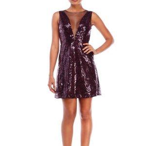 BCBG elegant purple formal dress