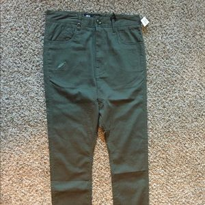 Publish Other - NWT! Publish olive green drop crotch skinnies
