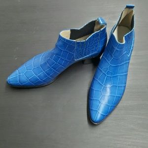Modern Vice Shoes - Handler Rainbow .... Blue Croc