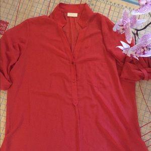 NWT Bobby Brooks utility shirt size 3x