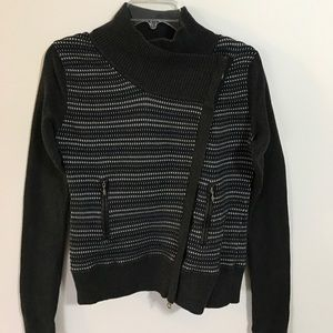 Margaret O'Leary Sweaters - Margaret O'Leary Moto Style Sweater