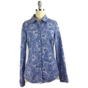 Boden Tops - Boden Floral Cotton Button Down Shirt 4
