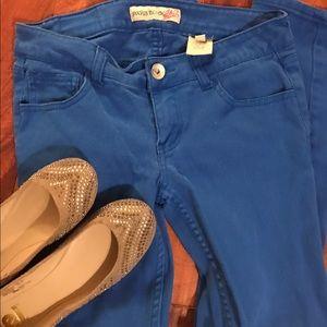 Paris Blues Denim - Royal Blue Paris Blues Skinny Jeans