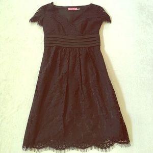 Eliza J Dresses & Skirts - Eliza J petite black lace dress