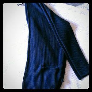Pull&Bear Sweaters - Pull & bear navy cardigan