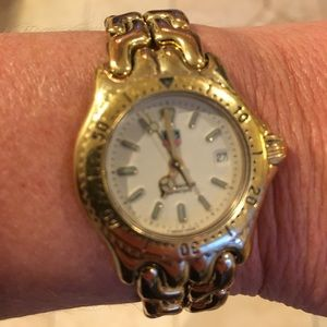 Tag Heuer Accessories - AUTHENTIC TAG HEUER GOLD PLATED WATCH