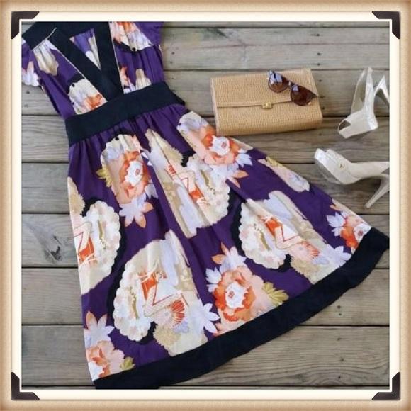 Anthropologie Dresses & Skirts - Anthropologie Corey Lynn Calter Silk Dress SZ 6