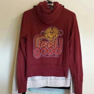 Junk Food Clothing Tops - Little Miss Sunshine zip up hoodie