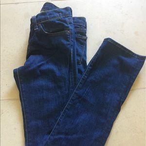 J Brand Dark Wash Straight Leg Jeans
