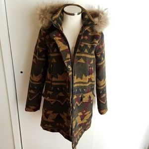 Jackets & Blazers - Tribal Parka Womens Jacket