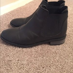 Topshop leather chelsea boots size 6