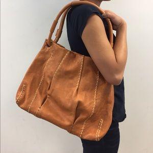 49 square miles Leather Satchel Bag