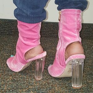 Shoes - Perspex Bootie