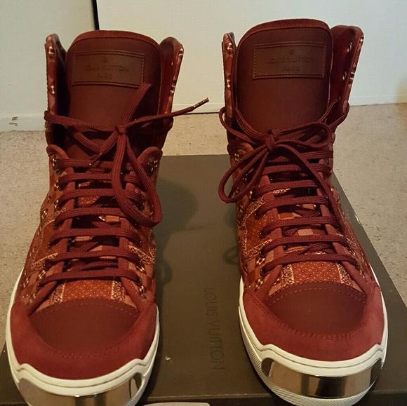 ced07c20ea381 Men's Louis Vuitton On Road Sneaker Boots NWT