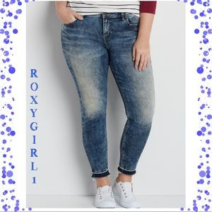 Silver Jeans Denim - Silver Jeans Co. Aiko ankle skinny Jeans