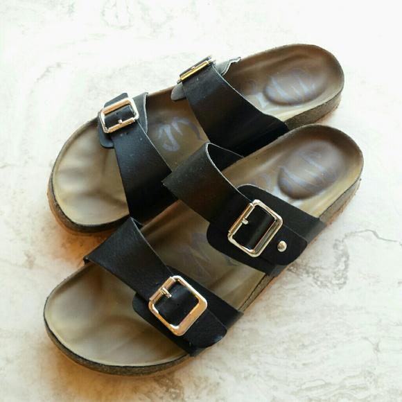 cf7ea1107236 Mad Love Shoes - Mad Love Keava Target Birkenstock Footed Sandals