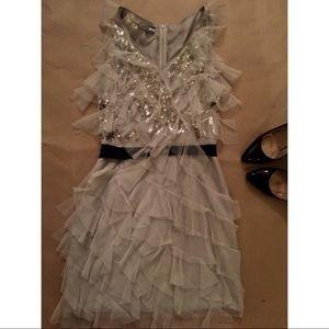 Sachin + Babi Dresses & Skirts - Sachin & Babi Gray Tulle dress
