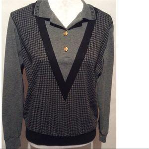 Black & Gray Sweatshirt Size Small