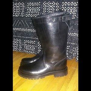 Ann Demeulemeester Shoes - Ann Demeulemeester urban crew biker boots  36 or 6
