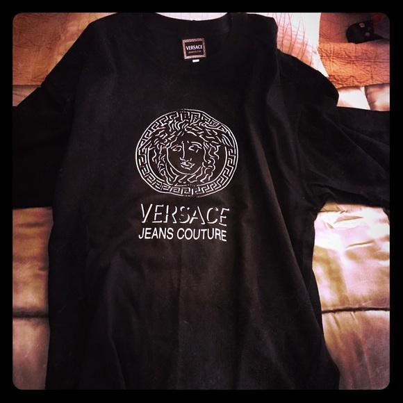5f05b369 Versace Shirts | Jeans Couture Short Sleeve T Shirt | Poshmark