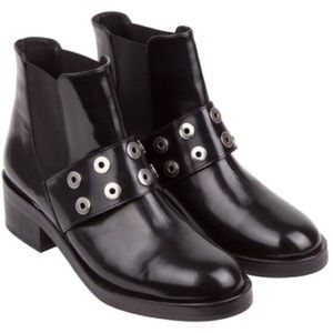Sandro Shoes - Authentic Sandro Alix Leather Chelsea Boots
