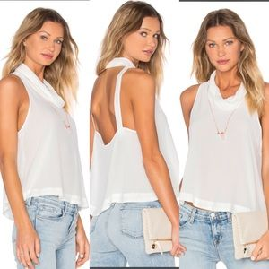 Markdown‼️ Turtleneck Backless and Sleeveless Top