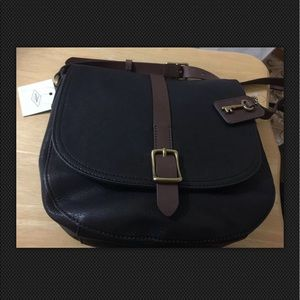 Fossil Geninue  Leather KENDAL Crossbdy Bag
