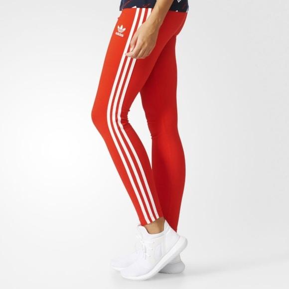 In Adidas Core Leggings New Poshmark Red Pants Brand yBBq7v