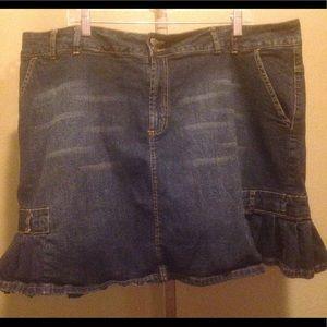 Venezia Pants - 1 DAY SALE 💄 Venezia denim skort. Size 22