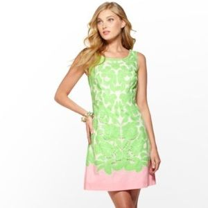 Lilly Pulitzer Capricia Eyelet Dress in New Green