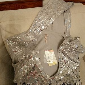 Tops - Free People Sparkly sequined top