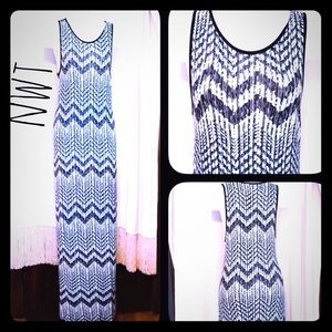 Soprano Dresses & Skirts - ✨NWT Soprano Sky Maxi Dress✨ blue Black white SZ L