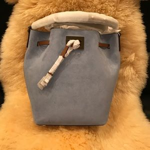 Michael Kors Handbags - Michael Kors Collection Miranda MD Bucket