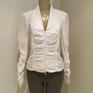 ANNE FONTAINE Tops - ANNE FONTAINE WHITE SHIRT.