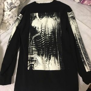 Hood by Air Tops - HBA zipped sweatshirts size s, 100% authentic