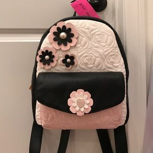 Betsey Johnson Handbags - Only Today! Betsey Johnson quilted backpack