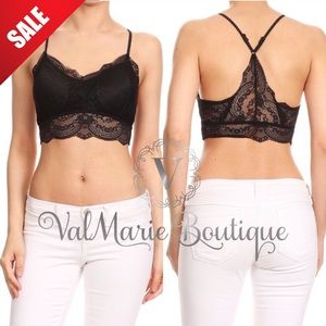 ValMarie Boutique Other - 💄SALE💄ELEGANT BLACK LACE BRALETTES