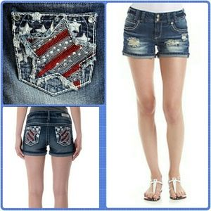 Wallflower Pants - WALLFLOWER Denim Shorts