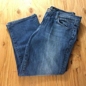 Lucky Brand Denim - Ashland Sweet N Low Crop Lucky Jeans 10/30