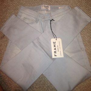 Frame Denim Denim - Frame Denim light blue jeans