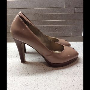 Nine West Women's Nude Heels