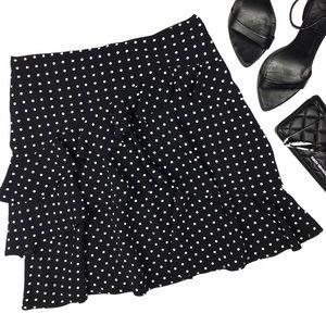 Lauren Ralph Lauren Dresses & Skirts - Lauren RL Polka Dot Ruffle Tiered Mini Skirt