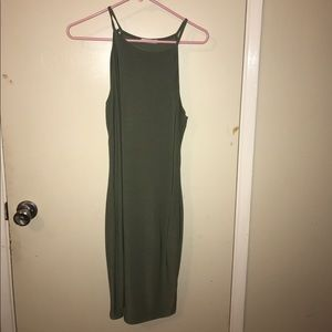 Inspire Dresses & Skirts - This is a fitted green dress from Inspire