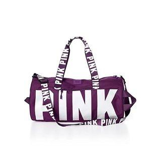 New Victoria's Secret PINK duffle travel bag NWT