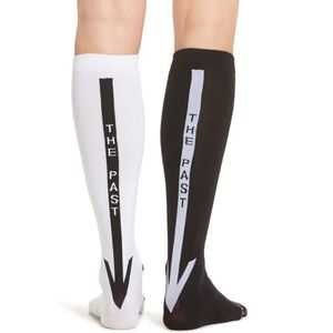 Stance Accessories - Stance Step Into the Unknown Black and White Socks
